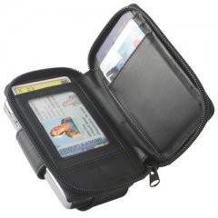 Executive Horizontal Case w/Attached Clip (Black)