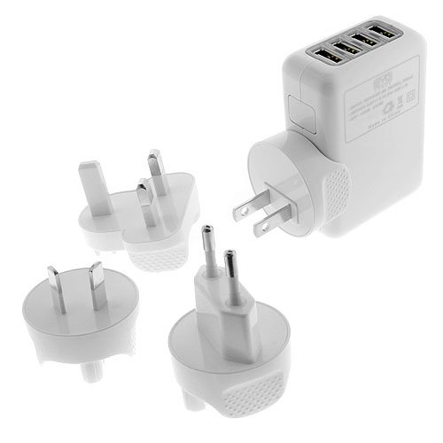 Premium International Travel/Wall USB Charger