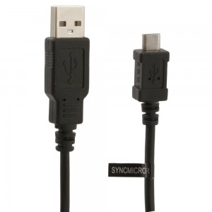 Premium Micro-USB Sync Data and Charge (3-Feet) Cable