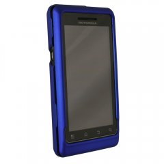 Dark Blue Rubberized Protective Shield w/Swivel Clip