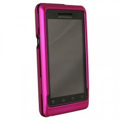 Dark Pink Rubberized Protective Shield w/Swivel Belt Clip