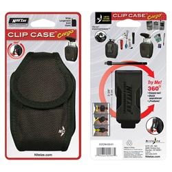 Nite-Ize Rugged Universal Cargo Clip Case w/Flex Clip (Black)