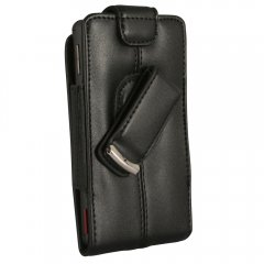 Axiom Premium Leather Pouch w/Swivel Belt Clip