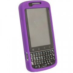 Motorola Rubberized Skin Shell Guard (Purple no clip)