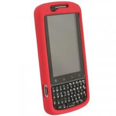 Motorola Rubberized Skin Shell Guard (Red no clip)