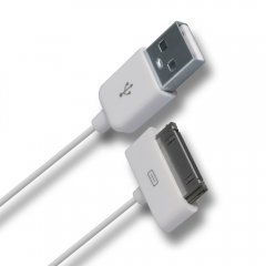 Premium USB Data Cable for Apple 30-pin Products