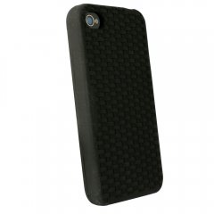 Black Silicone Sleeve for Apple iPhone 4