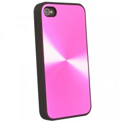 Laser Cover for Apple iPhone 4 - Pink