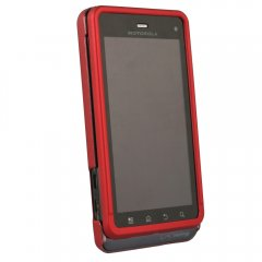 Red Protective Shield for Motorola XT862 Droid 3