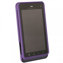 Purple Protective Shield for Motorola XT862 Droid 3