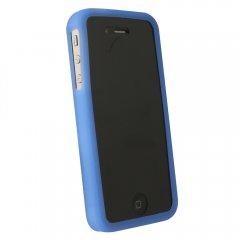 Dark Blue Silicone Sleeve compatible w/Motorola Droid Bionic Targa XT875