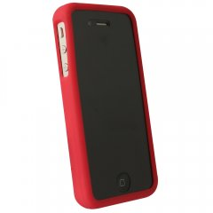 Red Silicone Sleeve compatible w/Motorola Droid Bionic Targa XT875