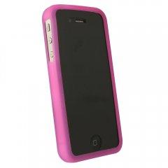 Dark Pink Silicone Sleeve compatible w/Motorola Droid Bionic Targa XT875