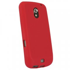 Red Silicone Sleeve compatible with Samsung Galaxy Nexus