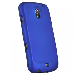 Dark Blue Rubberized Protective Shield compatible with Samsung Galaxy Nexus
