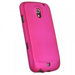 Dark Pink Rubberized Protective Shield compatible with Samsung Galaxy Nexus