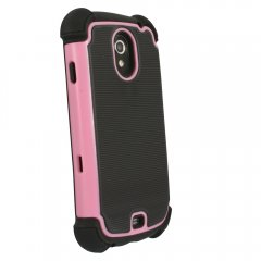 Prot3ct 3 layered Protective Case compatible with Samsung Galaxy Nexus (Pink)