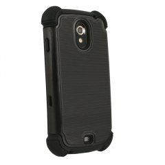 Prot3ct 3 layered Protective Case compatible with Samsung Galaxy Nexus(Black)