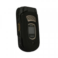 Black Rubberized Protective Shield Compatible With Kyocera DuraMax