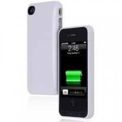 Incipio iPhone 4/4s offGRID 1450 mAh Battery/Backup (White)