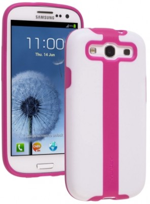Ventev Galaxy S III 2Touch Case (White/Purpinkle)