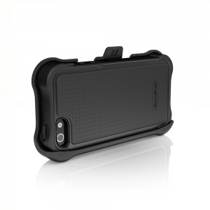 Ballistic Apple iPhone 5 Shell Gel Maxx Holster Case (Black)