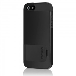 Incipio KicksSnap Case for Apple iPhone 5 (Black)