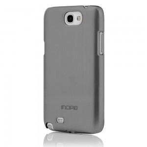 Incipio Feather Shine Case for Samsung Galaxy Note 2 - Silver
