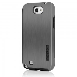 Incipio Dual Pro Shine Case for Samsung Galaxy Note 2 - Silver/Gray