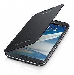 Samsung Galaxy Note II Flip Cover, Titanium Gray