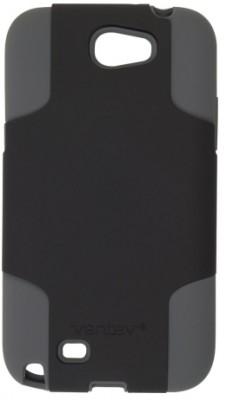 Ventev Galaxy Note II Fusion Case, Black PC / Gray Silicone