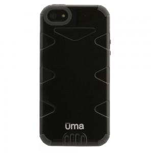UMA evolUtion Heavy Duty Fused Hybrid Case iPhone 5 - Gray/Black