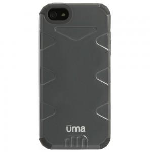 UMA evolUtion Heavy Duty Fused Hybrid Case iPhone 5 - Gray/Gray