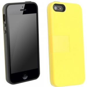 UMA Uflex Fusion Case iPhone 5 - Gray/Yellow