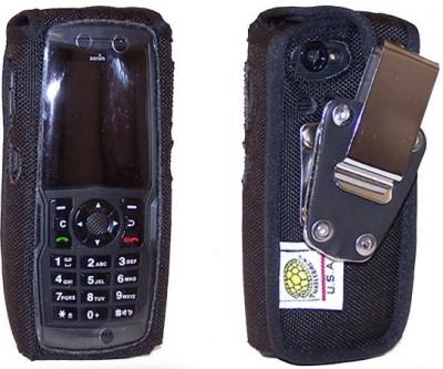 Turtleback Case Armor Heavy Duty Cordura Nylon Case w/Steel D Ring Swivel Belt Clip, Black
