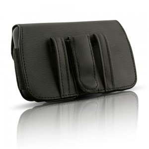 Premuim Horizontal XL Leather Case w/Clip/Loop