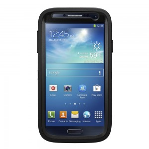 OtterBox DEFENDER Samsung Rugged Series Case w/Belt Clip, Samsung Galaxy S4 - Black
