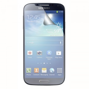 Fitted Screen Protector compatible with Samsung Galaxy S4