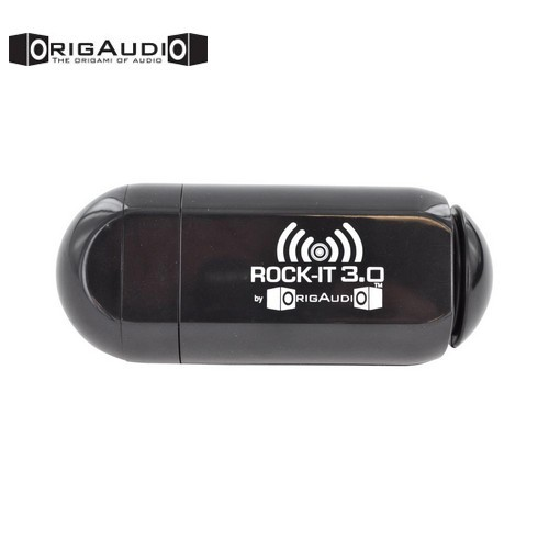 Origaudio Universal Rock-it 3.0 Portable Vibration Speaker with Rechargeable Battery 3.5mm - Black