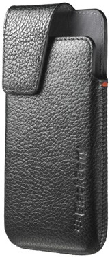 BlackBerry Leather Case w/Attached Swivel Belt Clip