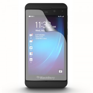 Fitted Screen Protector compatible w/ BlackBerry Z10