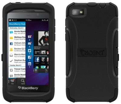 AFC Trident Aegis Case for BlackBerry Z10 in Black/Black