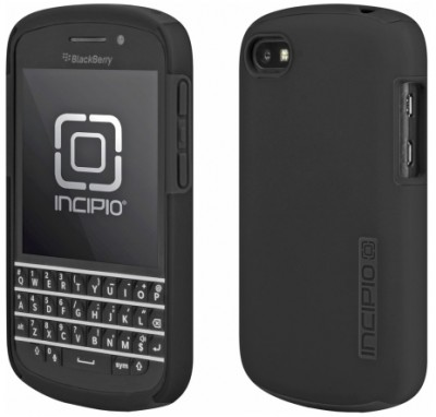Incipio DualPro Case for BlackBerry Q10 in Black/Black