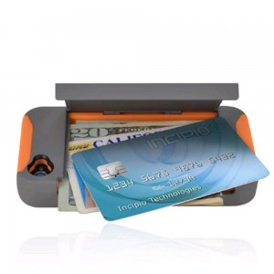 Incipio Apple iPhone 4S Stowaway Case w/ Kickstand, Grey & Orange