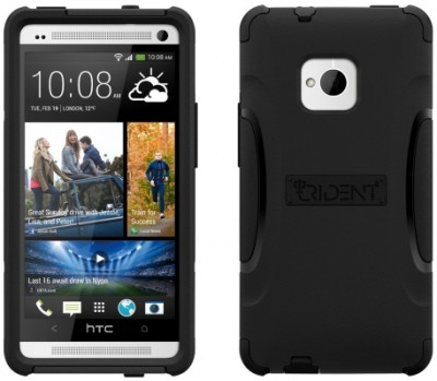 AFC Trident Aegis Case for HTC One in Black/Black