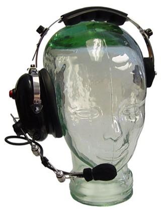 COMET Single Muff Universal 2.5mm Over The Head Headset