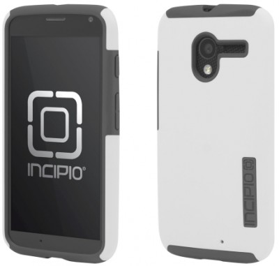 Incipio Technologies - DualPro Case for Motorola Moto X in WH/GY