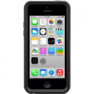 OtterBox DEFENDER Series Case w/Belt Clip For Apple iPhone 5C - Black