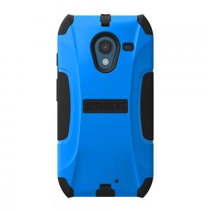 Trident Aegis Case Compatible w/ Motorola X (No Clip)- Blue