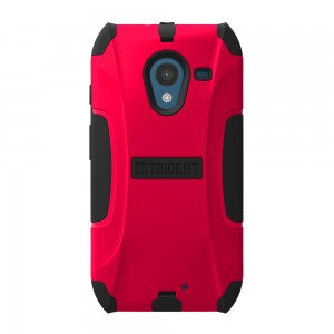 Trident Aegis Case Compatible with Motorola X (No Clip) - Red
